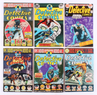 "Lot of (6) 1973-74 ""Detective Comics"" #436-#441 DC Comic Books"