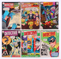 "Lot of (6) 1973-74 ""Detective Comics"" DC Comic Books with #336, #341, #347, #357, #366, & #374"