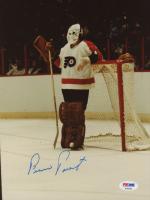 Bernie Parent Signed Philadelphia Flyers 8x10 Photo (PSA COA)