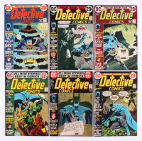 "Lot of (6) 1972-73 ""Detective Comics"" DC Comic Books with #425, #426, #432, #433, #434, & #435"