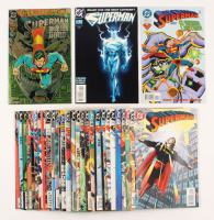 Lot of (30) Superman 1987-1997 DC Comic Books (2nd Series)