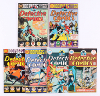 "Run of (6) 1974-75 ""Detective Comics"" #442-447 DC Comic Books"
