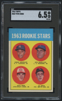 1963 Topps #537 Rookie Stars / Pete Rose RC (SGC 6.5)