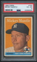 1958 Topps #150 Mickey Mantle (PSA 4) at PristineAuction.com