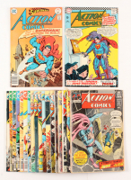 Lot of (20) 1962-1978 DC Action Comic Books at PristineAuction.com