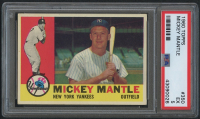 1960 Topps #350 Mickey Mantle (PSA 5) at PristineAuction.com