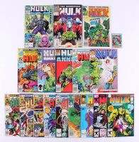 "Lot of (17) 1981-99 ""Incredible Hulk"" #258-#400 Marvel Comic Books"