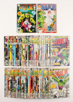 Lot of (69) 1978-1996 The Incredible Hulk Marvel Action Comic Books (1st Series)