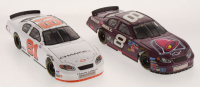 Lot of (2) Martin Truex Jr LE 1:24 Scale Die Cast Cars with (1) #8 Taco Bell / Raced Win Version 2004 Monte Carlo & (1) #81 Chance 2 2003 Monte Carlo