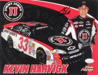 Kevin Harvick Signed 8x10 Print (JSA COA)