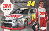 Jeff Gordon Signed 5.5x8.5 Print (JSA COA)