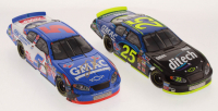 Lot of (2) Brain Vickers LE 1:24 Scale Die Cast Cars with (1) #25 GMAC 2004 Monte Carlo & (1) Signed GMAC / IRP Win / Raced Version 2003 Monte Carlo (RCCA COA)