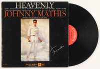 "Johnny Mathis Signed ""Heavenly"" Vinyl Record Album Inscribed ""Love"" (JSA COA)"