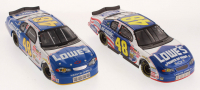 Lot of (2) Jimmie Johnson LE 1:24 Scale Die Cast Cars with (1) #48 Lowe's / Power of Pride 2002 Monte Carlo & (1) #48 Lowe's 2002 Monte Carlo