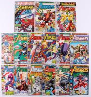 """Lot of (15) 1979-80 """"The Avengers"""" #186-200 Marvel Comic Books"""