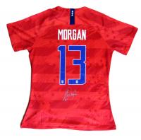Alex Morgan Signed Team USA Nike Soccer Jersey (JSA COA)