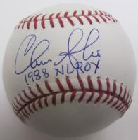 "Chris Sabo Signed OML Baseball Inscribed ""1988 NL ROY"" (JSA COA) at PristineAuction.com"
