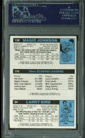 "Larry Bird, Julius ""Dr. J"" Erving, & Magic Johnson Signed 1980-81 Topps #6 RC (PSA Encapsulated) at PristineAuction.com"