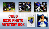 Chicago Cubs Signed Mystery Box 8x10 Photo - 2016 World Champions Edition – Series 7 (Limited to 108) (Pristine Exclusive Edition)