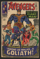 "1966 ""The Avengers"" #28 Marvel Comic Book"