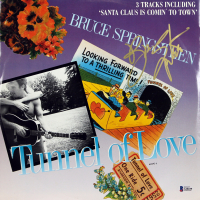 "Bruce Springsteen Signed ""Tunnel of Love"" Vinyl Record Album (Beckett LOA)"