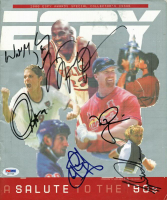 2000 ESPY Awards Program Signed by (6) with Michael Jordan, Tiger Woods, Wayne Gretzky, Mark McGwire (PSA LOA)