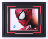 "Stan Lee Signed ""Spider-Man"" 18x22 Custom Framed Photo Display (JSA COA) at PristineAuction.com"