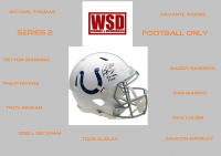 WSD Full Size Helmet Mystery Box Series 2 - Autographed Football Helmet Series #/50 at PristineAuction.com