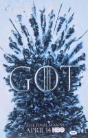 "Maisie Williams Signed ""Game of Thrones"" 12x18 Photo (PSA COA) at PristineAuction.com"