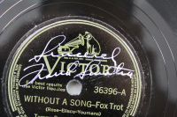 "Frank Sinatra Signed ""Without a Song"" LP Vinyl Record Inscribed ""Sincerely"" (Beckett LOA) at PristineAuction.com"