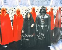 "Ian McDiarmid & David Prowse Signed ""Star Wars"" 16x20 Photo Inscribed ""Emperor"" & ""Darth Vader"" (Beckett COA)"