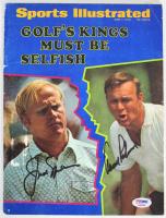 Jack Nicklaus & Arnold Palmer Signed 1970 Sports Illustrated Magazine (PSA COA)