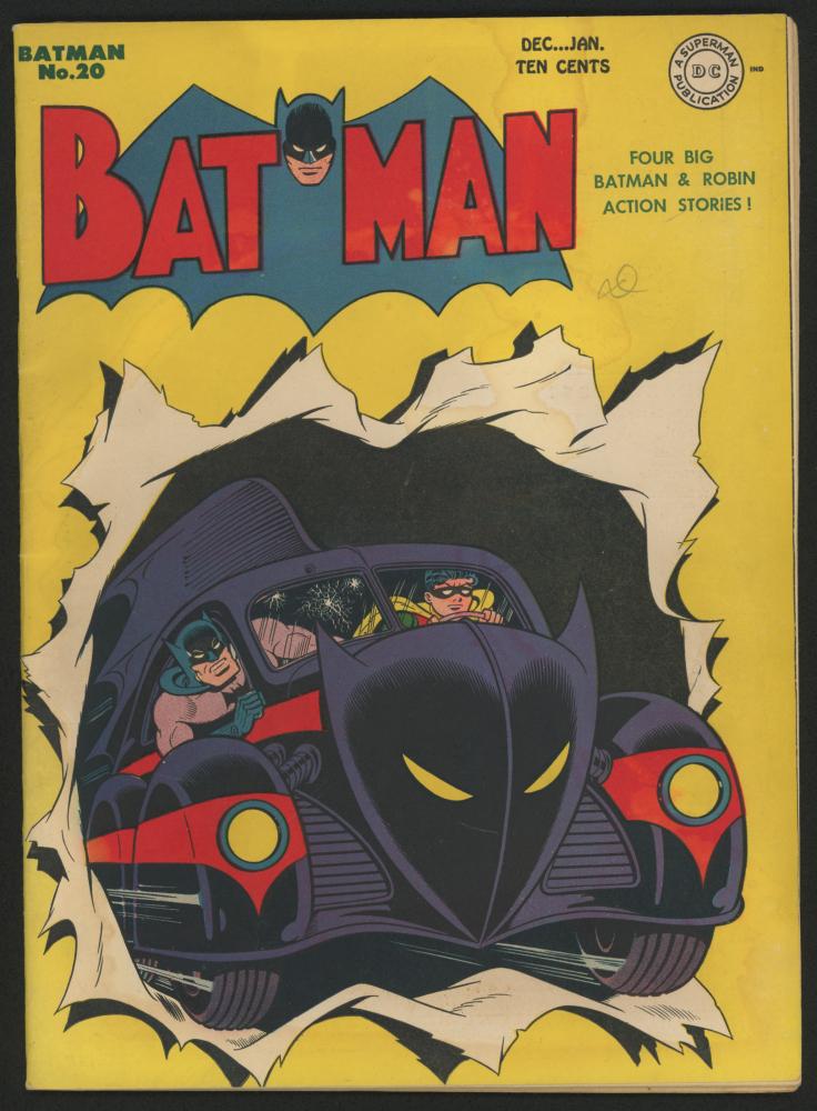 "1944  DC ""Batman"" Issue #20 Comic Book at PristineAuction.com"