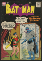 "1958 DC ""Batman"" Issue #118 Comic Book"