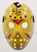 "Ari Lehman Signed Jason ""Friday the 13th"" Inscribed ""I Never Die!"" & ""Jason 1"" (Beckett COA) at PristineAuction.com"