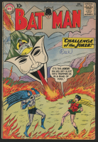 "1960 DC ""Batman"" Issue #136 Comic Book"