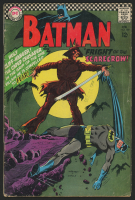 "1967 DC ""Batman"" Issue #189 1st Silver Age Scarecrow Comic Book"