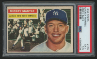 1956 Topps #135 Mickey Mantle (PSA 5.5)