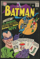 "1966 DC ""Batman"" Issue #179 2nd Silver Age Riddler Comic Book"