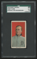 1909-11 T206 #98 Ty Cobb / Portrait Red (SGC 3.5)