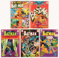 "Run of (5) 1967 ""Batman"" #193-#197 DC Comic Books"