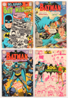 "Lot Run of (4) 1968 ""Batman"" #198-#201 DC Comic Books"