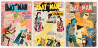 "Lot of (3) 1958-59 ""Batman"" DC Comic Books with #119, #120, & #126"