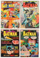 "Lot of (4) 1966 ""Batman"" DC Comic Books with #180, #182, #183, & #184"