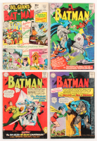 "Lot of (4) 1965-66 ""Batman"" DC Comic Books with #174, #175, #176, & #178"