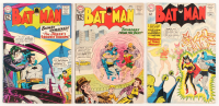 "Lot of (3) 1962-63 ""Batman"" DC Comic Books with #148, #149, & #153"
