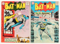 "Lot of (2) 1964 ""Batman"" DC Comic Books with #166 & #168"