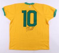 Pele Signed Brazil Jeresy (PSA COA)