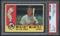 1960 Topps #350 Mickey Mantle (PSA 4)