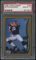 1998 Topps Chrome #165 Peyton Manning RC (PSA 10) at PristineAuction.com